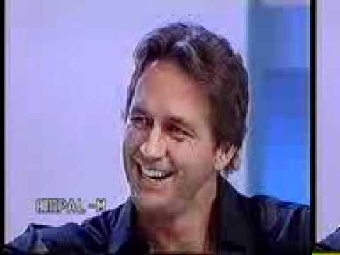 Guy Ecker no Brasil no Programa da Hebe em Setembro de 2000
