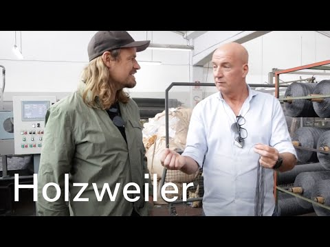 Holzweiler - The making of our scarves