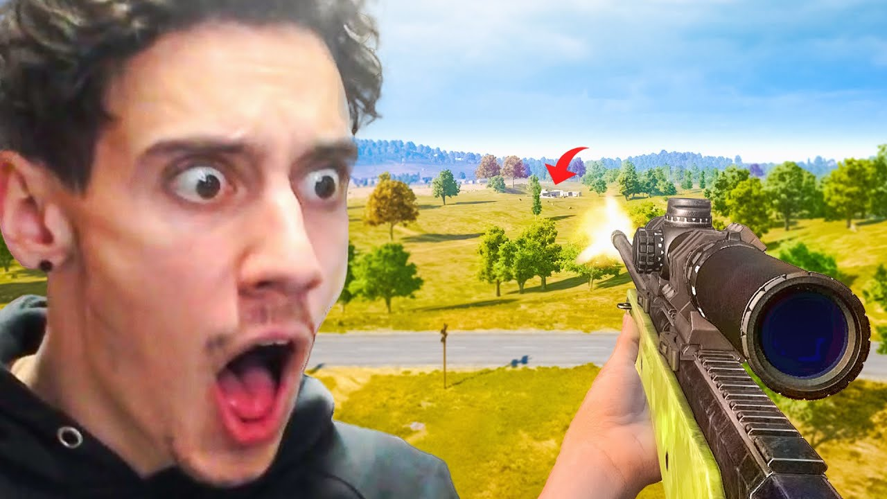 When You Hit A Lucky Sniper Shot in PUBG... (0.0197% Chance)