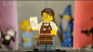 Lego Movie Minifigures10 'Larry the Barista'