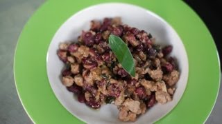 How To Cook A Side Dish Of Sausage & Beans, Northern Italian Style - Frankie Cooks