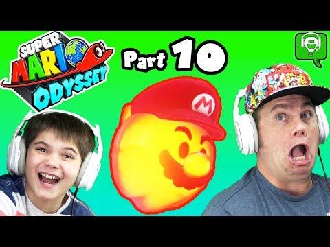 Mario Odyssey Part 10 Luncheon by HobbyKidsGaming