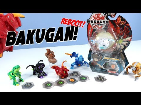 Bakugan Reboot Battle Planet Toys Unboxing Dragonoid Howlkor Trox Spin Master