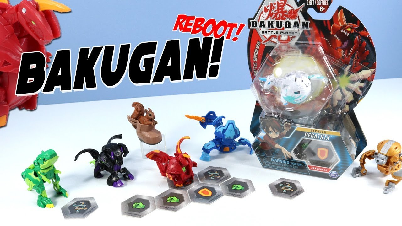 Bakugan Reboot Battle Planet Toys Unboxing Dragonoid Howlkor Trox Spin Master Youtube