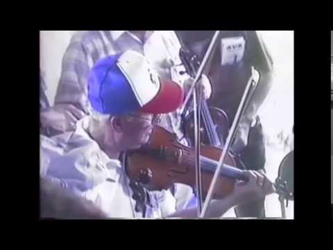 Herman Johnson fiddles the Gardenia Waltz  Bethel 1990