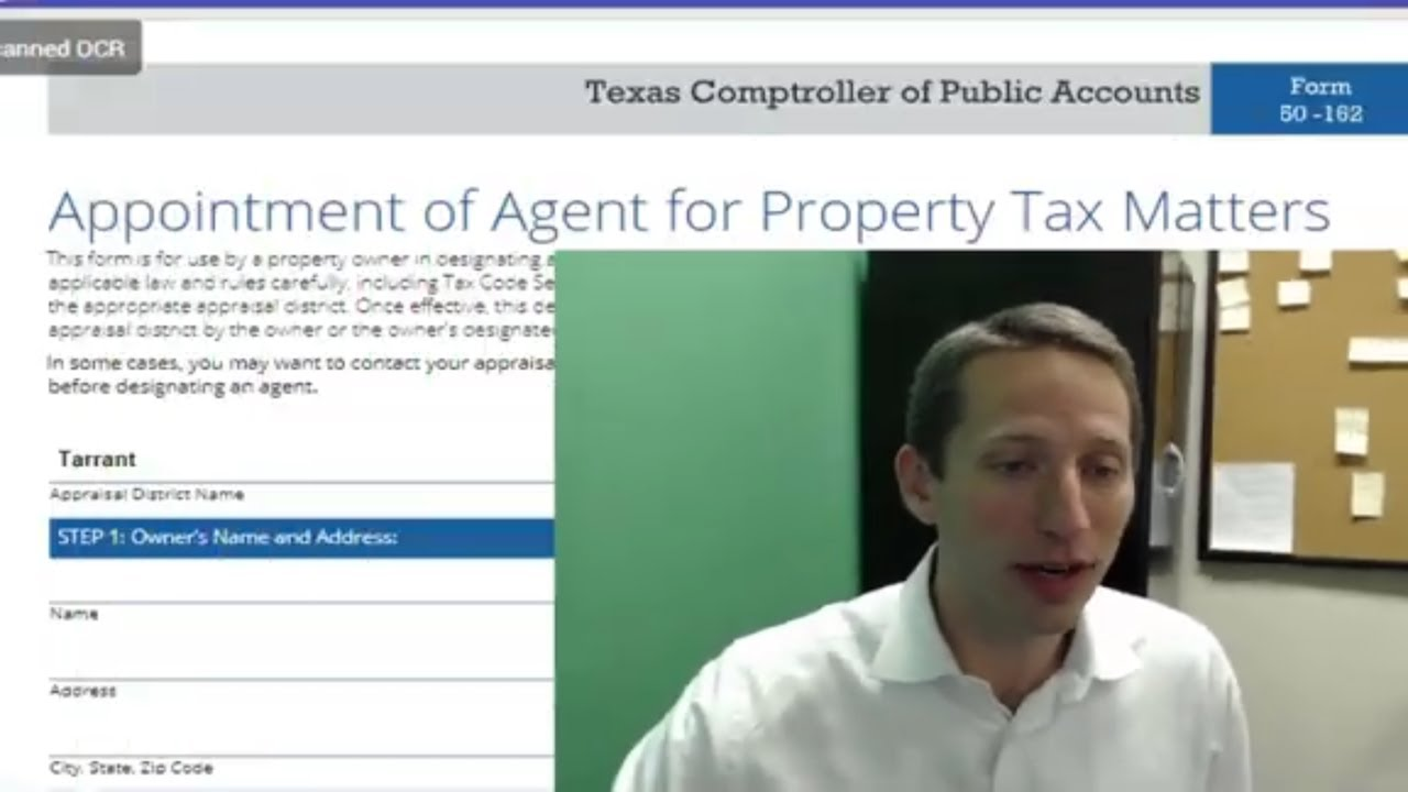 How to fill out an AoA form for property tax protests