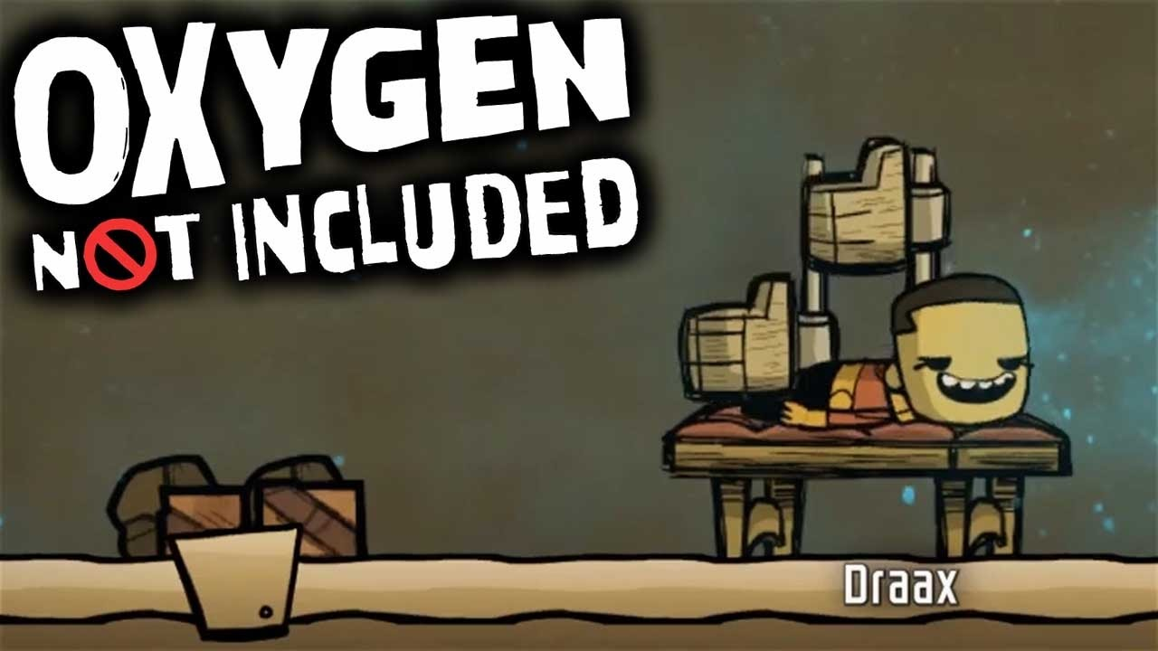 Oxygen Not Included - Stressed Out Duplicants & Massage Table (Let's Play  Oxygen Not Included Ep 5)