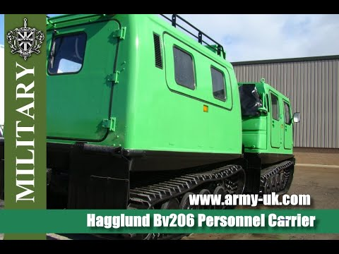 Hagglunds Bv206 Personnel Carrier for sale - YouTube