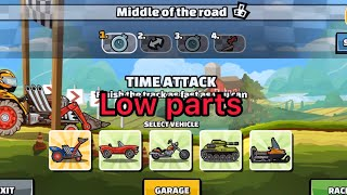 Hill Climb Racing 2 - 31428 points in MIDDLE OF THE ROAD Low Parts