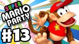 Diddy Kong on Challenge Road! - Super Mario Party - Gameplay Walkthrough Part 13