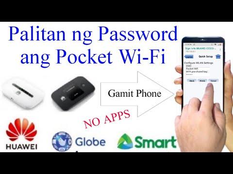 Change WiFi Password- Globe using only phone