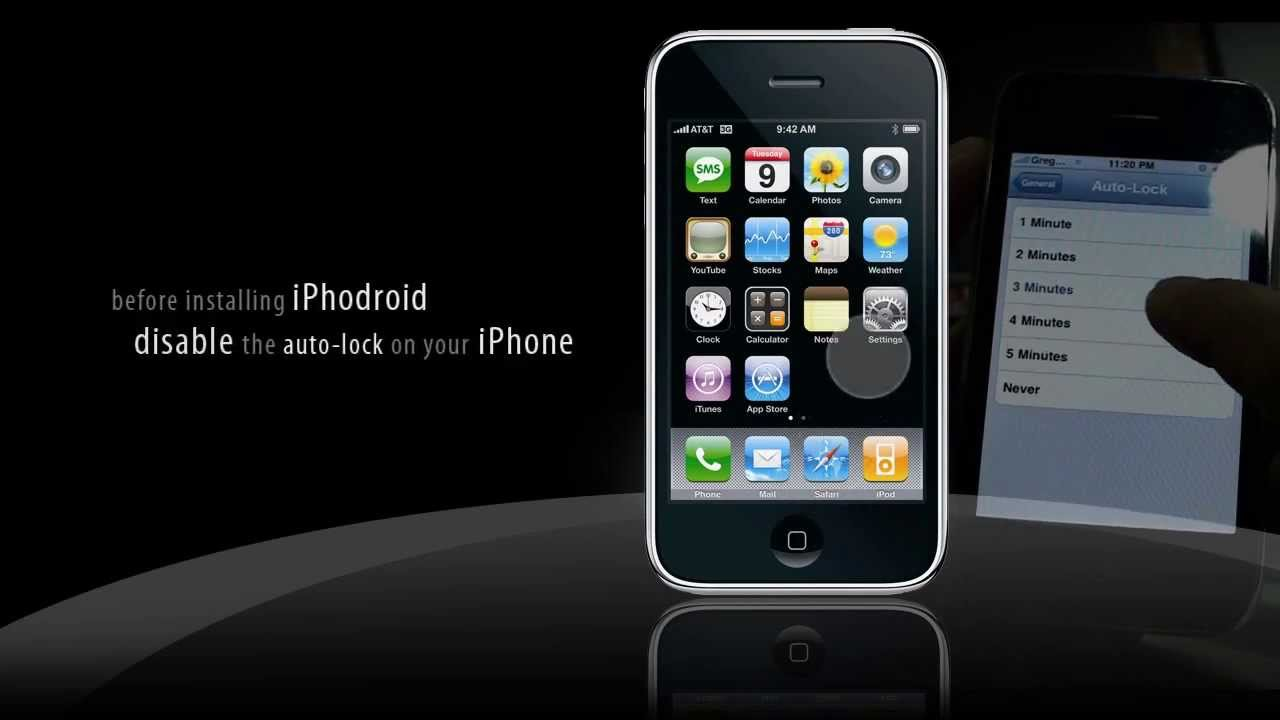 install android on iphone installing android os into iphone 3g 14346