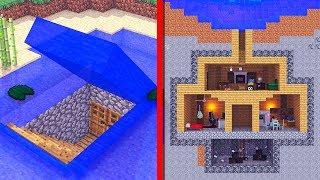 GEHEIME WASSER BASE in UNTER 10 MINUTEN! - Minecraft [Deutsch/HD]