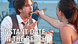 Instant Date On The Beach