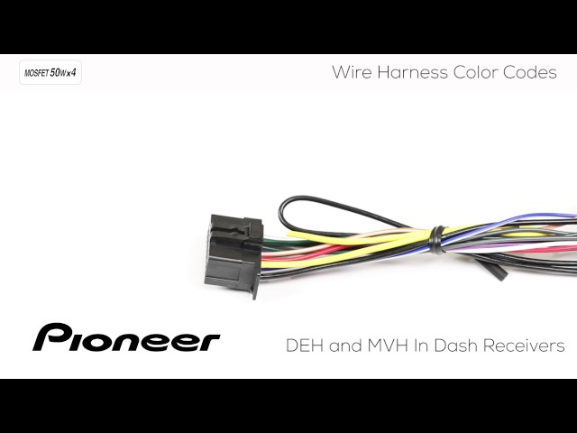 sddefault how to understanding pioneer wire harness col with loop pioneer fhx830bhs wire harness color code at honlapkeszites.co