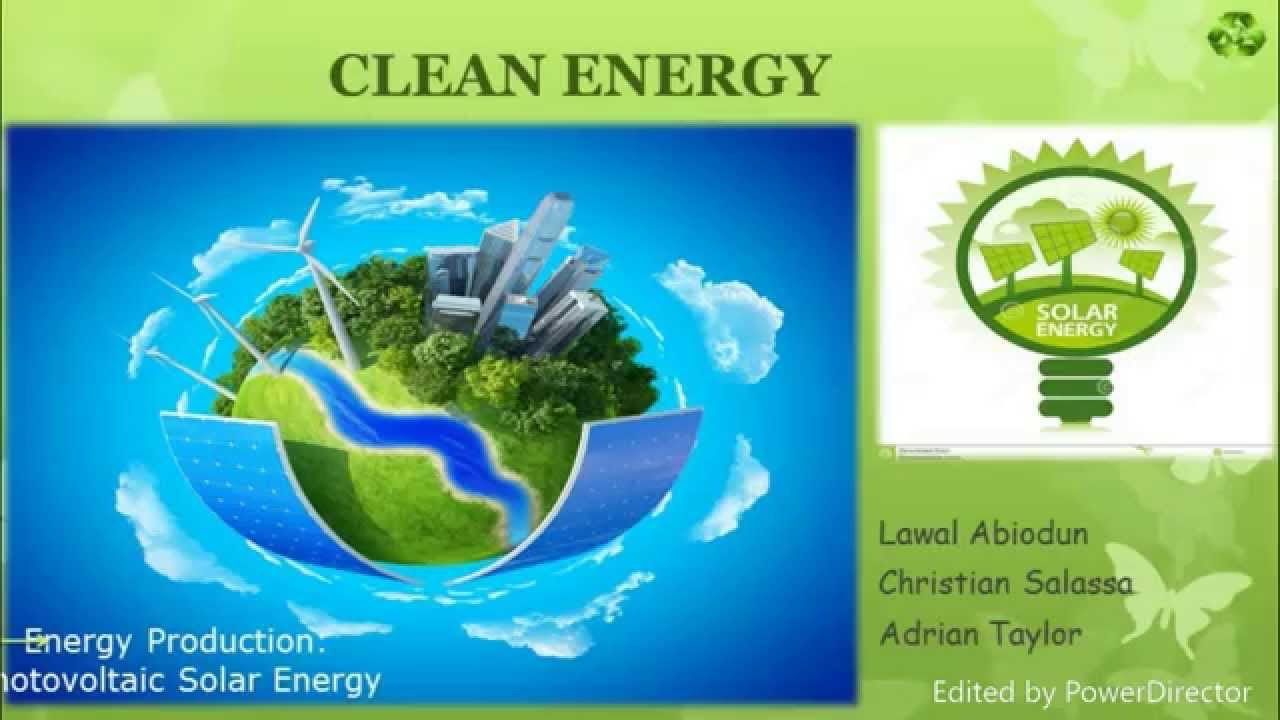 Solar Energy Powerpoint Presentation Youtube