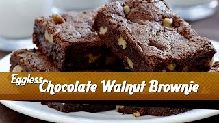 Chocolate Walnut Brownies - Master Chef Sanjeev Kapoor