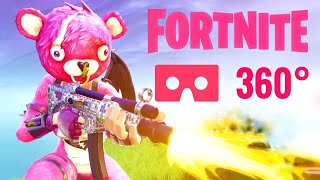 360 video Best Fortnite VR Box Cuddle Team Leader Legendary Google Cardboard 4K