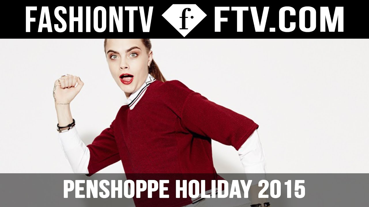 Cara Delevingne For Penshoppe Holiday 2015