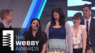 BuzzFeed's 5-Word Speech at The 18th Annual Webby Awards