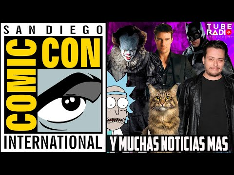 SDCC 2019: Edward Furlong en Terminator Dark Fate, Top Gun, Cats, It, La casa de papel | Tube Radio
