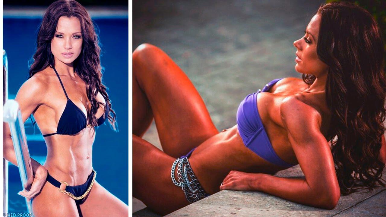 in fitness Beauty bikini