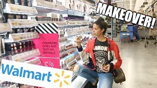 Download I GAVE MYSELF A WALMART MAKEOVER | Hair, Makeup, and Outfit Mp3 and Videos
