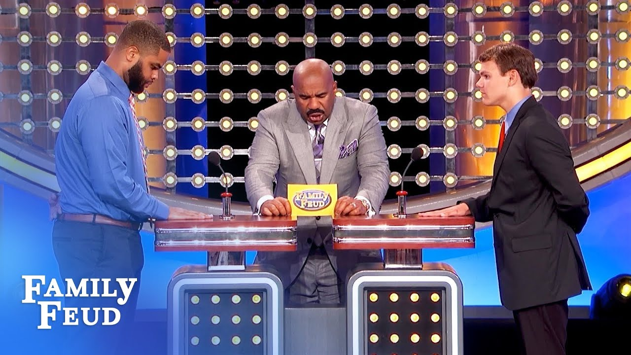 EXCLUSIVE OUTTAKE! Best answer Steve's EVER heard! | Family Feud