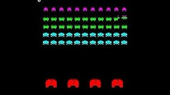SPACE INVADERS PART 2 ARCADE MAME VIDEO GAME TAITO 1979 invadpt2