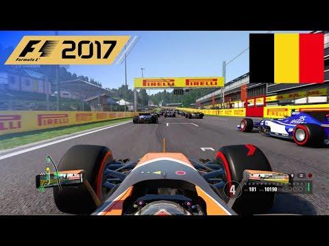 F1 2017 - 100% Race at Spa-Francorchamps, Belgium in Vandoorne's McLaren Honda