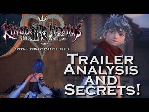 Kingdom Hearts 2.8 E3 2016 Trailer - ANALYSIS & SECRETS!