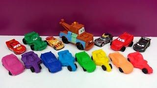 Play-Doh Cars Rainbow Kinder Surprise Spiderman Superman Spongebob Thomas The Simpsons Toys Thumbnail