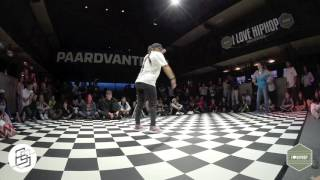 Bgirlsessions bgirl battle 1on1 - prelim - Jilou vs Frozen