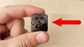 Spy mini kamera SQ8 oxirgi kechasi edi Off va deyarli qo'rquv o'ldi! Bolalar tomosha qilmang!