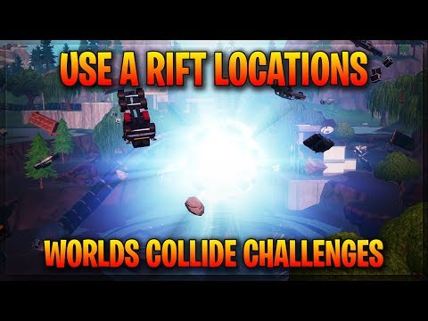 Use A Rift - Rift Locations Fortnite - Fortnite Week 3 Challenges