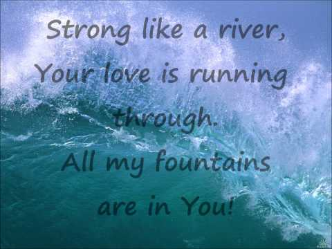 All My Fountains lyrics video -  without singers