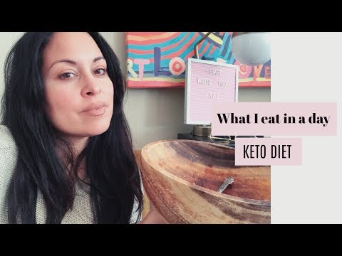 What I Eat in a Day: KETO DIET