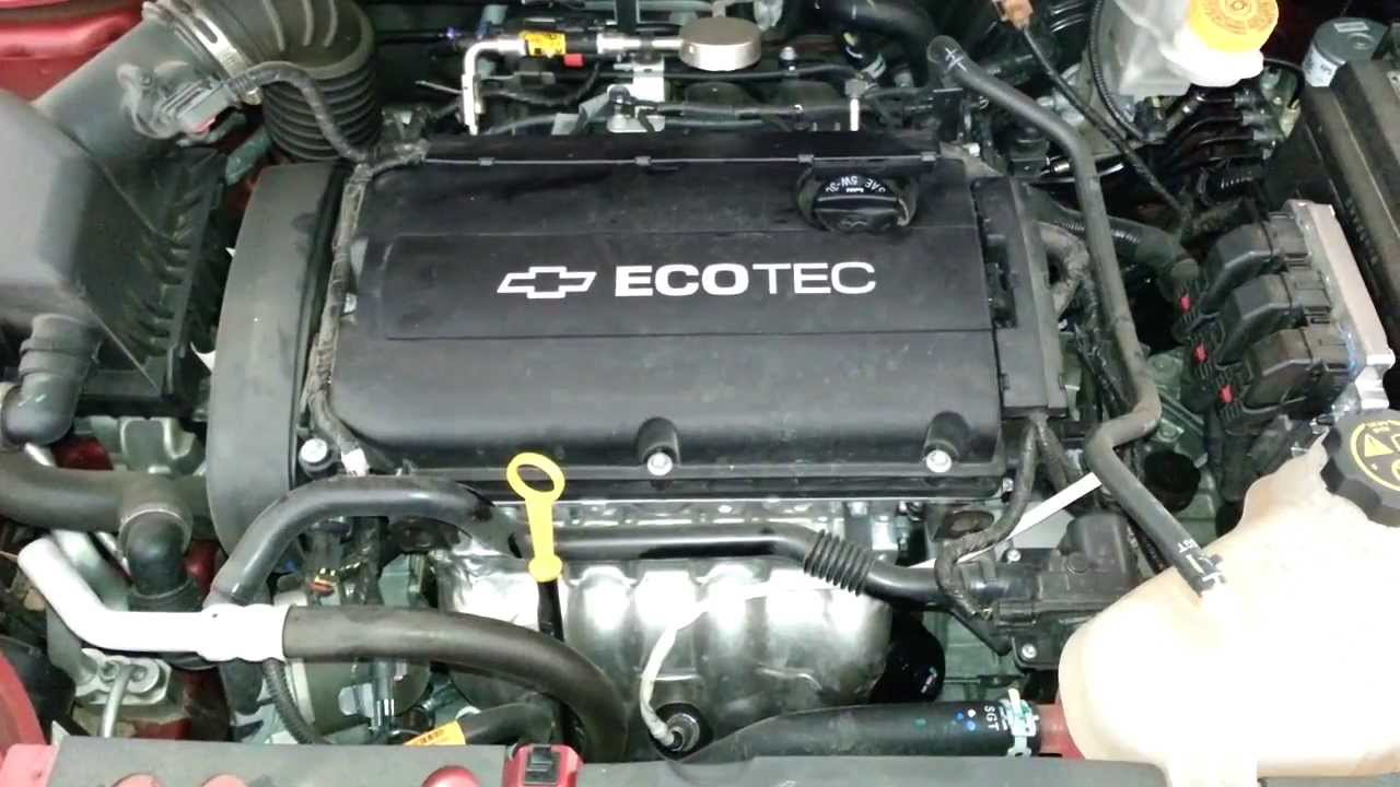 2013 GM Chevrolet Sonic Sedan  Ecotec A18XER 18L Engine
