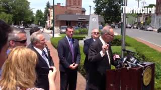 Sen. Schumer announces money will be coming for the Troy seawall
