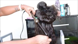 aliexpress hair review   vip beauty hair   brazilian water wave