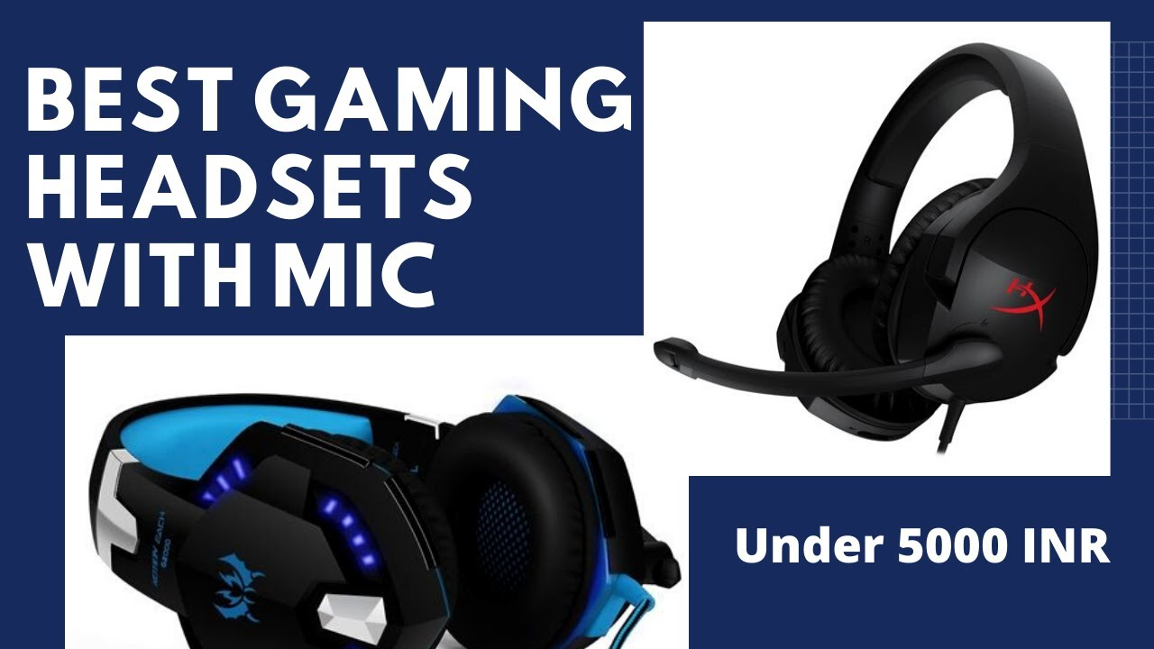 7 Best Gaming Headsets Under Rs 5000 In India 2020 Geeky Gadgets Youtube