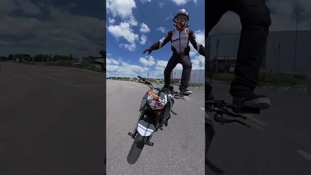 Wicked stunt action with Insta360 #shorts