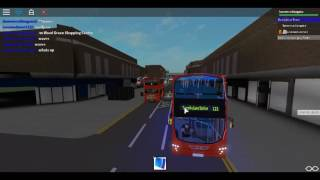 Roblox North London bus Simulator Gemini 2 DAF DB300 Arriva London Route 230