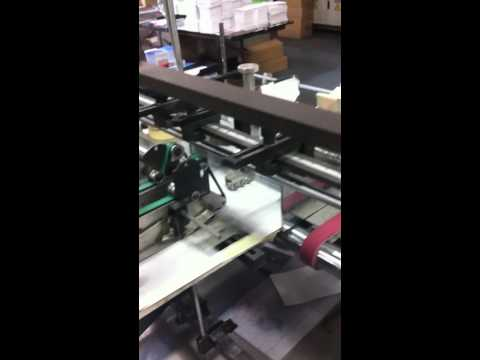 This 6 Panel Sleeve (Mailer/Wallet) can hold 3 Disc. This Video shows folding & Gluing Process