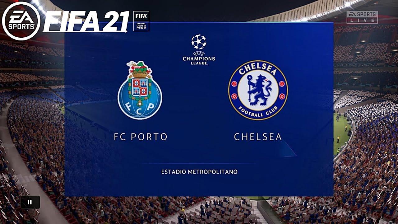 FIFA 21 🎮 - UEFA Champions League - Fc Porto vs. Chelsea @ Estadio  Metropolitano ⚽ - YouTube