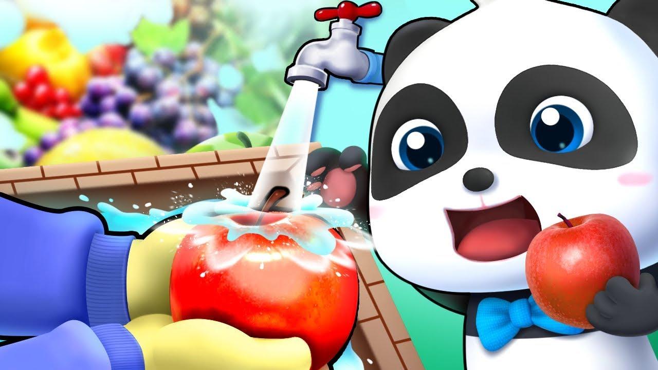 Rainbow Fruits - Colors Song | Ice Cream, Vending Machine | Nursery Rhymes | Kids Songs | BabyBus