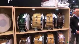 Hendrix Drums at NAMM 18 on Drum Talk TV
