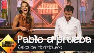 Paula Echevarría pone a prueba el sentido de la moda de Pablo Motos  - El Hormiguero 3.0