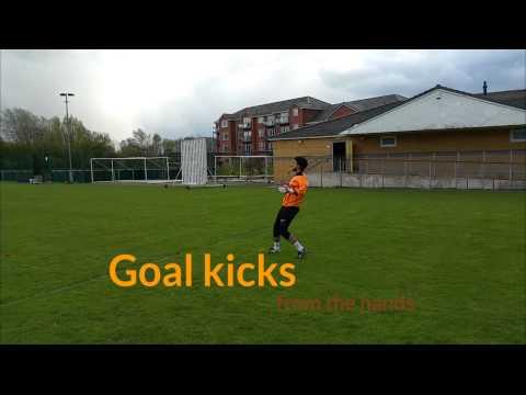 Goalkeeper goal kicks and distribution
