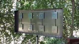 видео Направленная антенна WiFi с усилением до 22дб